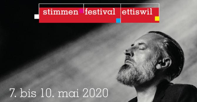 Plakat des Stimmen Festival Ettiswil 2020